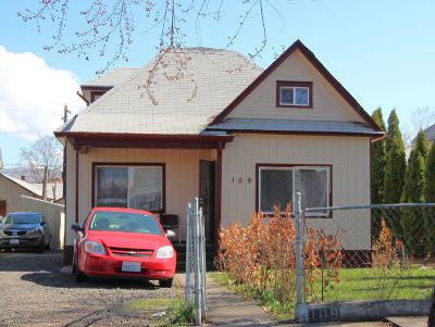 Yakima Single Family Home For Sale: 109 S 7th St