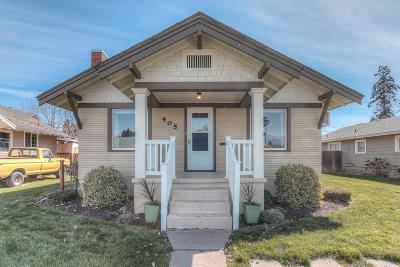 Yakima Single Family Home Contingent: 405 S 14th Ave