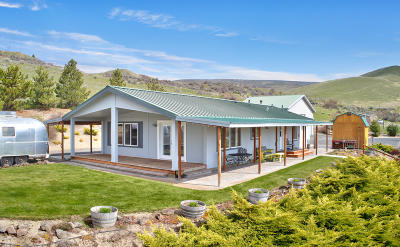 Manufactured Home Contingent: 14766 N Wenas Rd