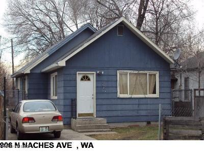 Yakima Single Family Home For Sale: 906 N Naches Ave