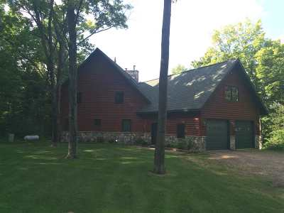 Merrill Single Family Home Active - With Offer: W3034 Pine River Road