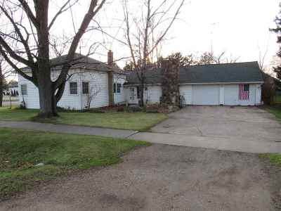 Almond Single Family Home For Sale: 100 Main Street