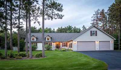 Wisconsin Rapids Single Family Home For Sale: 3911 Timber Valley Drive