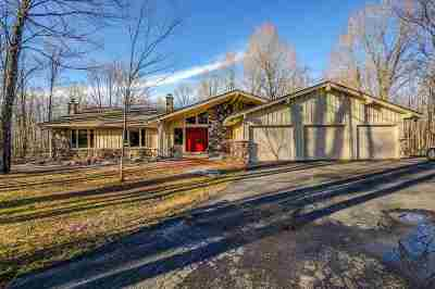 Merrill Single Family Home For Sale: W6750 Edward Drive