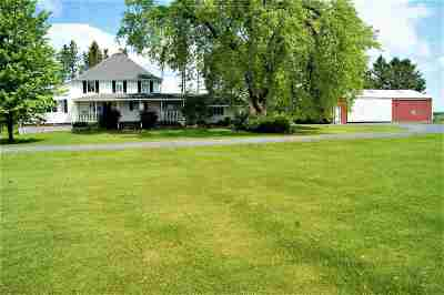 Wisconsin Rapids Single Family Home For Sale: 7388 Swedish Road
