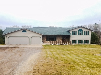 Iola Single Family Home For Sale: N7806 State Highway 49