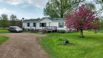 Iola Single Family Home Active - With Offer: N8628 State Highway 49