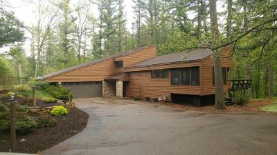 Wisconsin Rapids Single Family Home For Sale: 3510 Deer Road