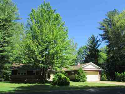 Wisconsin Rapids Single Family Home For Sale: 530 S Biron Drive