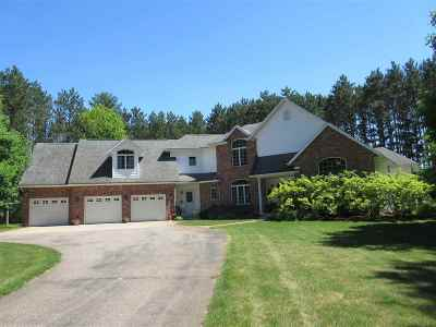 Stevens Point Single Family Home Active - With Offer: 5301 Manchester Court
