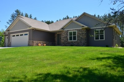 Stevens Point Single Family Home Active - With Offer: 4717 Hummingbird Lane
