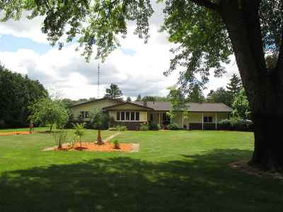 Wisconsin Rapids Single Family Home For Sale: 3099 State Highway 73