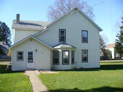 Rib Lake Single Family Home For Sale: 812 W Pearl Street