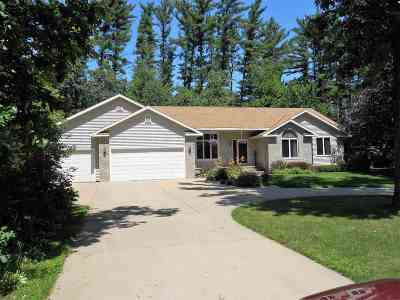 Wisconsin Rapids Single Family Home For Sale: 4711 Falcon Court