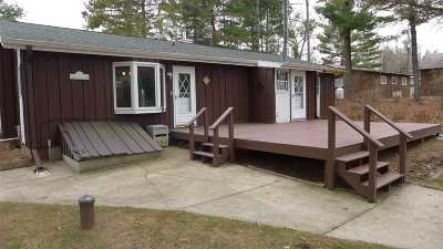 Iola Single Family Home For Sale: E1977 Hoffman Lane