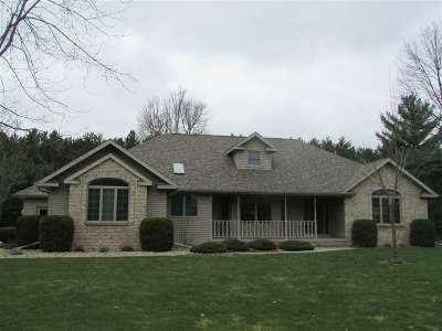Wisconsin Rapids Single Family Home For Sale: 4130 Ridgeview Lane