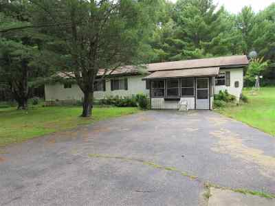 Iola Single Family Home For Sale: N8093 Bestul Road