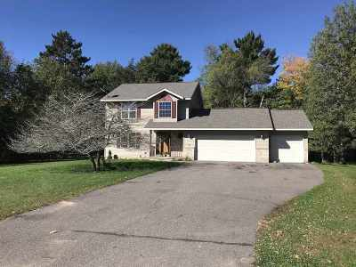 Weston WI Single Family Home Active - With Offer: $179,900