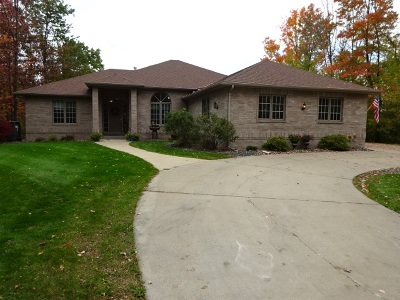 Stevens Point Single Family Home For Sale: 2308 Eagle Summit Drive