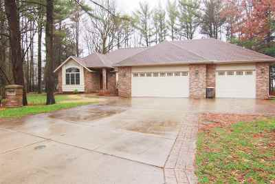 Wisconsin Rapids Single Family Home For Sale: 2310 Carriage Court