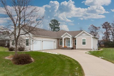 Stevens Point Single Family Home Active - With Offer: 1825 Prescott Drive
