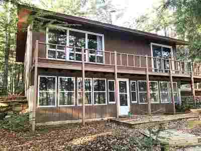 Tomahawk Single Family Home For Sale: W1322 Bass Lake Lane