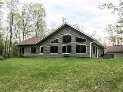 Tomahawk Single Family Home For Sale: N9705 Stone Creek Road