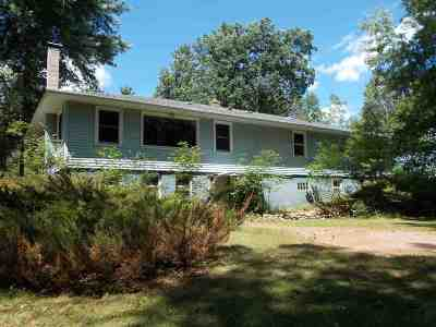 Wisconsin Rapids Single Family Home For Sale: 8940 County Road Ff