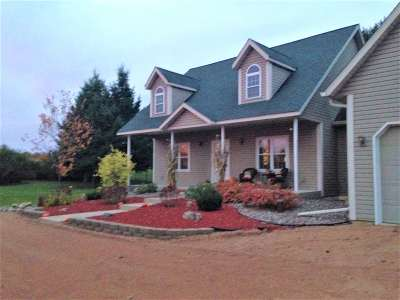Merrill Single Family Home Active - With Offer: N983 County Road Q