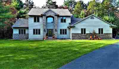 Wisconsin Rapids Single Family Home For Sale: 4411 Eagles Nest Road
