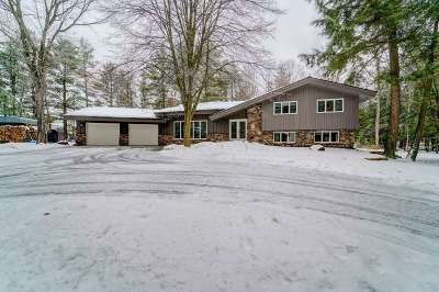 Wausau Single Family Home Active - With Offer: 7020 Hillcrest Drive