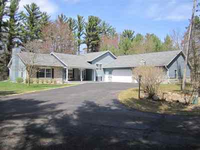 Wisconsin Rapids Single Family Home For Sale: 3731 North Valley Drive