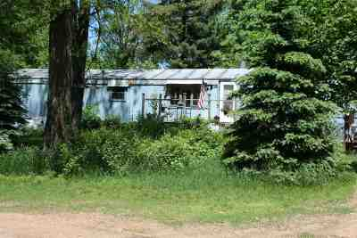 Plainfield Single Family Home For Sale: W13588 Highway 73