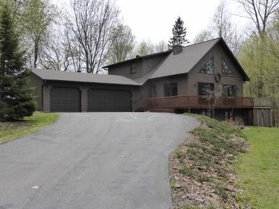 Mosinee Single Family Home For Sale: 1503 Lakehurst Road