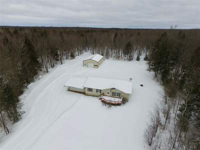 Wausau Single Family Home For Sale: H14140 Landing Road