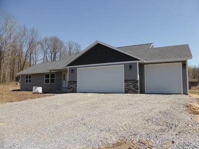 Mosinee Single Family Home For Sale: 1615 Whispering Oaks Trail
