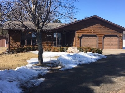 Weston WI Single Family Home For Sale: $160,000