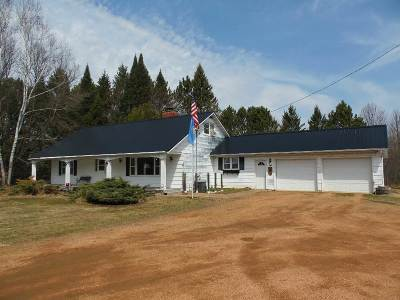 Merrill Single Family Home Active - With Offer: W10070 State Highway 64
