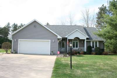 Wisconsin Rapids Single Family Home Active - With Offer: 6230 Pointe Haven Drive