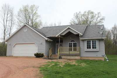 Mosinee Single Family Home Active - With Offer: 2604 Duberstein Road