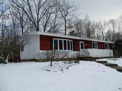 Westboro Single Family Home For Sale: W3975 County Road D