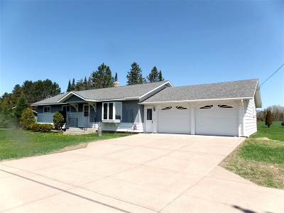 Merrill Single Family Home Active - With Offer: N2660 State Highway 107