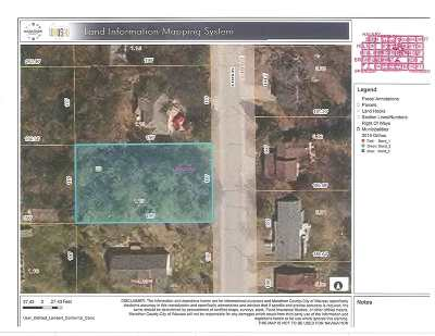 Wausau WI Residential Lots & Land For Sale: $20,000