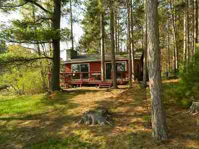 Tomahawk Single Family Home Active - With Offer: N11411 Half Moon Lake Road