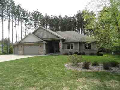 Stevens Point Single Family Home Active-Bump: 5001 Partridge Way