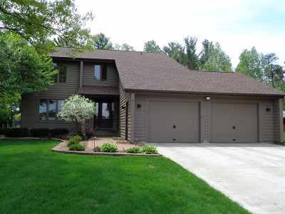 Wisconsin Rapids Single Family Home For Sale: 6720 Wood Avenue
