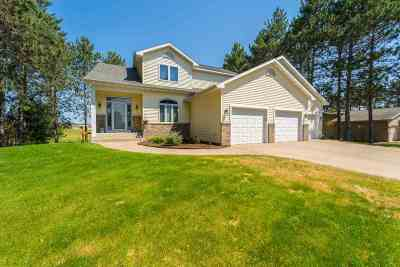 Wausau Single Family Home Active - With Offer: 5318 Beckman Drive