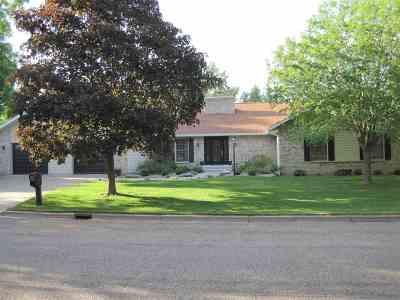 Stevens Point Single Family Home For Sale: 3024 Della Street
