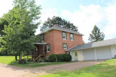 Merrill Single Family Home For Sale: N1592 County Road W