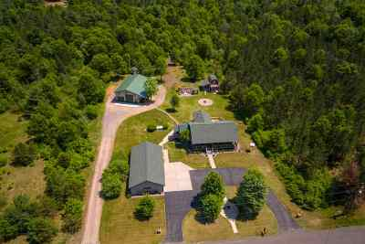 Wisconsin Rapids Single Family Home Active - With Offer: 11951 Bell Road